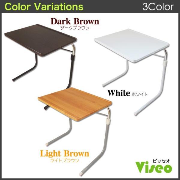 サイドテーブル おしゃれ 木製 折りたたみ 折り畳み 角度調節付き フォールディングテーブル 昇降式テーブル 送料無料|goodstyle|16