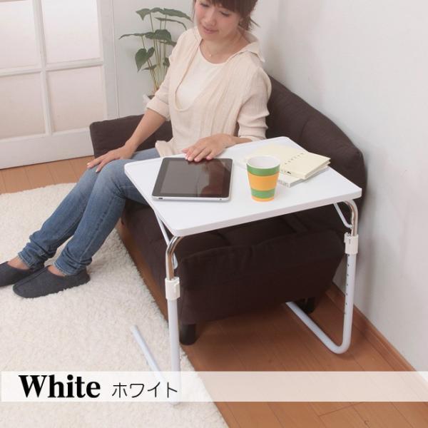 サイドテーブル おしゃれ 木製 折りたたみ 折り畳み 角度調節付き フォールディングテーブル 昇降式テーブル 送料無料|goodstyle|05