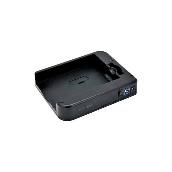 "CENTURY CSDRU3B6G SATA6Gに対応!スライディング裸族SATA6G 2.5""&3.5""HDD/SSD スライドケース"