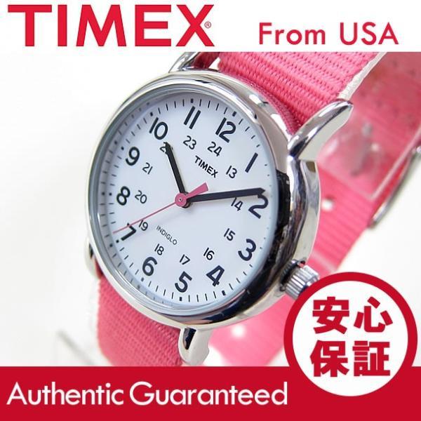 TIMEX (タイメックス) T2P368 Weekender/ウィークエンダー セントラルパーク ミッドサイズ ナイロンベルト ピンク レディースウォッチ 腕時計 【あすつく】