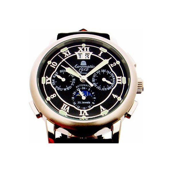 自動巻 エアロマティック Aeromatic1912 エアロマチック 送料無料 即納 正規代理店 腕時計 A1272|googoods