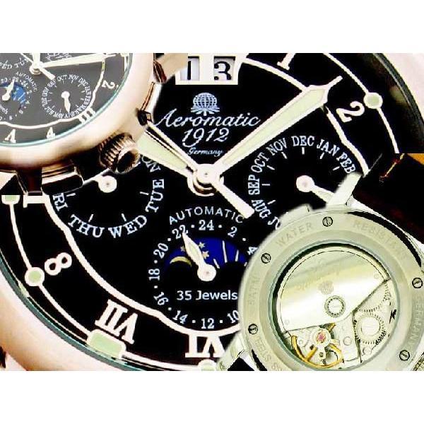自動巻 エアロマティック Aeromatic1912 エアロマチック 送料無料 即納 正規代理店 腕時計 A1272|googoods|02