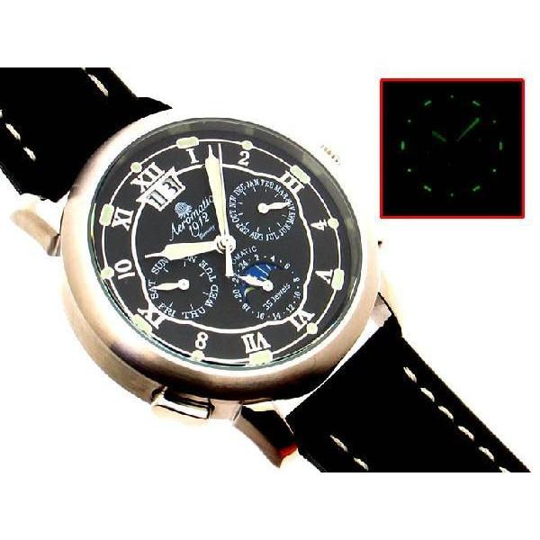 自動巻 エアロマティック Aeromatic1912 エアロマチック 送料無料 即納 正規代理店 腕時計 A1272|googoods|04