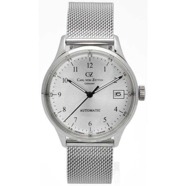 レディース 腕時計 時計 CvZ カール・フォン・ツォイテン CarlvonZeyten 自動巻き(手巻き機能あり) ケース幅:36mm 品番:CvZ0016SLMB