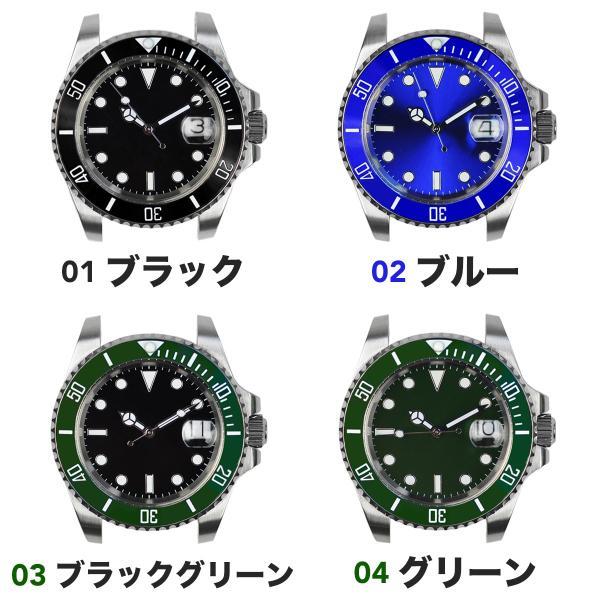 腕時計 メンズ NOLOGO ノーロゴ サブマリーナー ダイバーズウォッチ NL000S googoods 02