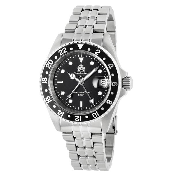 トーチマイスター Tauchmeister サブマリーナ GMT 正規代理店 メンズ 腕時計 ダイバーズ ダイバー時計 T0021|googoods