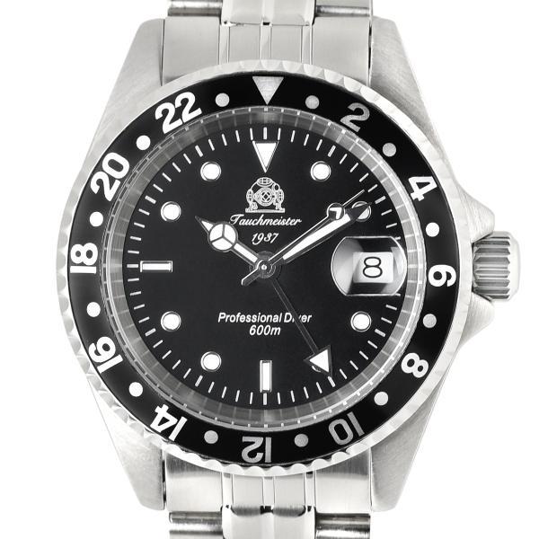 トーチマイスター Tauchmeister サブマリーナ GMT 正規代理店 メンズ 腕時計 ダイバーズ ダイバー時計 T0021|googoods|02