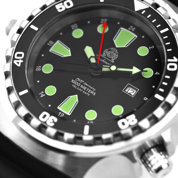 トーチマイスター Tauchmeister ダイビング 正規代理店 メンズ 腕時計 ダイバーズ ダイバー時計 T0266 googoods 03