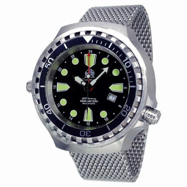 トーチマイスター Tauchmeister ダイバーズ 正規代理店 メンズ 腕時計 ダイバーズ ダイバー時計 T0275MIL googoods