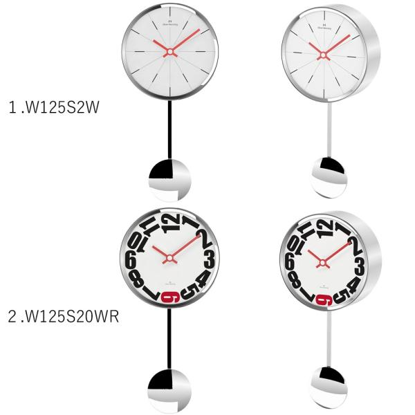 イギリスデザイン 掛け時計 振り子時計 W125シリーズ 9バリエーション Oliver Hemming オリバー・ヘミング 誕生日プレゼント 引越し 新築 祝い|googoods|02
