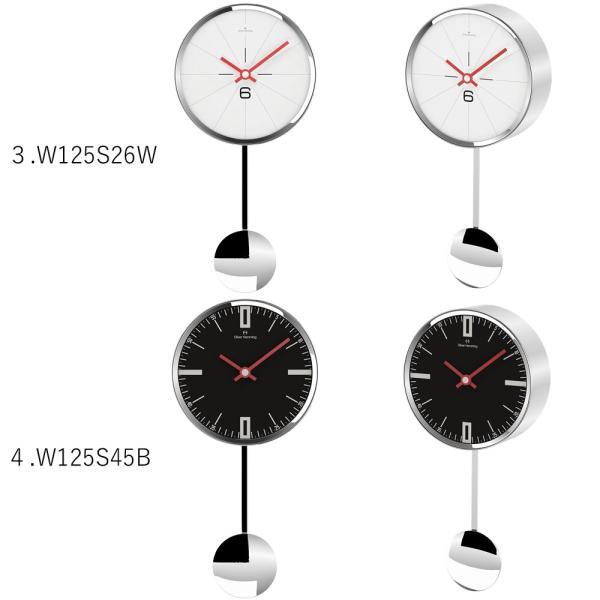 イギリスデザイン 掛け時計 振り子時計 W125シリーズ 9バリエーション Oliver Hemming オリバー・ヘミング 誕生日プレゼント 引越し 新築 祝い|googoods|03