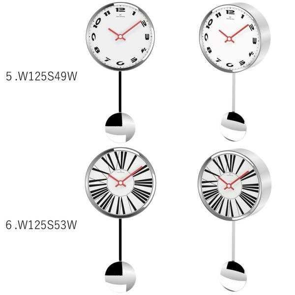 イギリスデザイン 掛け時計 振り子時計 W125シリーズ 9バリエーション Oliver Hemming オリバー・ヘミング 誕生日プレゼント 引越し 新築 祝い|googoods|04