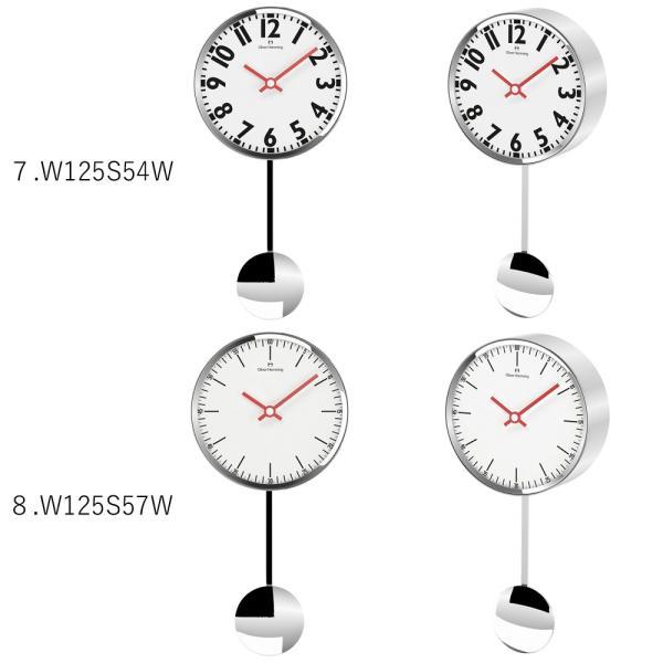 イギリスデザイン 掛け時計 振り子時計 W125シリーズ 9バリエーション Oliver Hemming オリバー・ヘミング 誕生日プレゼント 引越し 新築 祝い|googoods|05