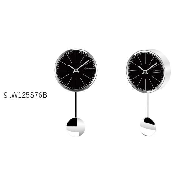 イギリスデザイン 掛け時計 振り子時計 W125シリーズ 9バリエーション Oliver Hemming オリバー・ヘミング 誕生日プレゼント 引越し 新築 祝い|googoods|06