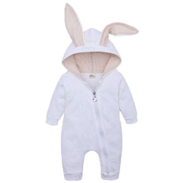 赤ちゃん 着ぐるみ うさぎ ロンパース あったか ベビー 服 ハロウィン 衣装 ウサギ カバーオール 仮装 コスプレ goovice 09
