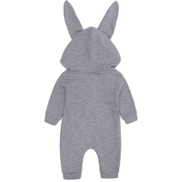 赤ちゃん 着ぐるみ うさぎ ロンパース あったか ベビー 服 ハロウィン 衣装 ウサギ カバーオール 仮装 コスプレ goovice 02