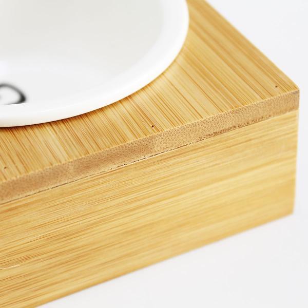 猫 食器 猫用 3匹 餌入れ ねこ 水飲み 水 皿 えさ 入れ 水入れ ボウル 子猫 食器台 陶器 可愛い スタンド セット|goovice|04