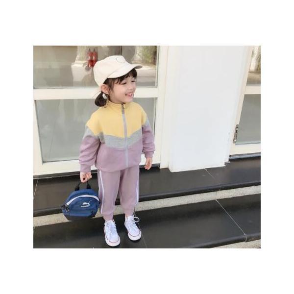 ジャージ130110上下セットスポーツキッズセット100長袖韓国子供服120スウェット女の子スポーツウェア90キッズセットアップ
