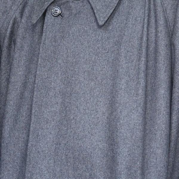 寺院用 寺用 ウール ロング コート メンズ 男性用 秋冬用 日本製 [ウールロングコート 茶 鼠 (M-LL)] 敬老の日 父の日 送料無料|gosaido|03