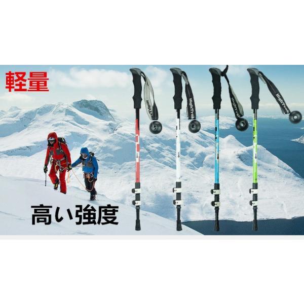 ポール ステッキ 登山 登山杖 登山用品 山登り ハイキング ウォーキング スティック I型 goshu-kiki
