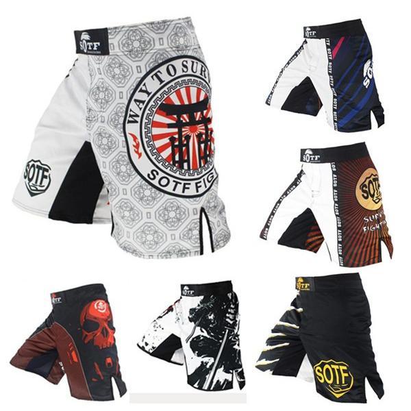 ボクシング トレーニング ハーフパンツ メンズ スポーツウェア コンバット トレーニングウェア goshu-kiki