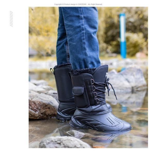 スノーブーツ メンズ レディース 防寒シューズ 防水 超軽量 滑り止め スノーシューズ|goshu-kiki|13
