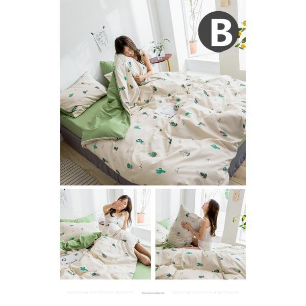 布団カバー シーツ 枕カバー 3点セット 洋式 ビスコース ダブル 寝具 涼感 枕カバー 滑らか 母の日 プレゼント|goshu-kiki|03