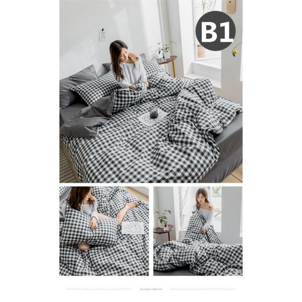 布団カバー シーツ 枕カバー 3点セット 洋式 ビスコース ダブル 寝具 涼感 枕カバー 滑らか 母の日 プレゼント|goshu-kiki|06