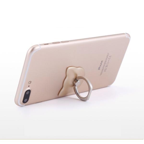 ホールドリング スマホリング  スマホスタンド ねこ タブレット ホールドリング アクセサリー 薄型 iphone おしゃれ かわいい|goshu-kiki|07