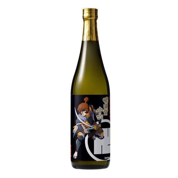 日本酒 戦国のアルカディア 名将銘酒47撰 御殿桜 特別純米酒 蜂須賀小六ラベル720ml|gotensakura|02