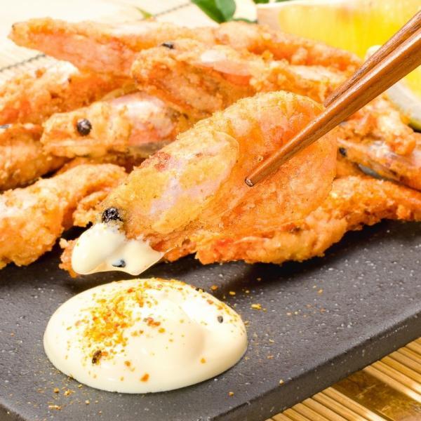 甘海老 唐揚げ 1kg (甘海老 甘えび 甘エビ)|gourmet-no-ousama|11