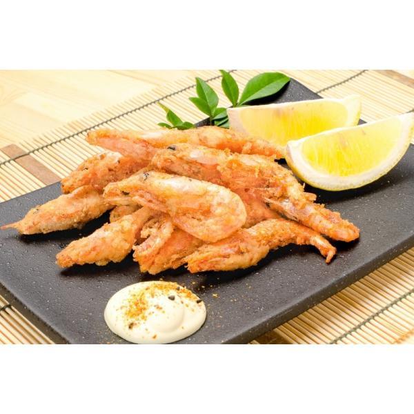 甘海老 唐揚げ 1kg (甘海老 甘えび 甘エビ)|gourmet-no-ousama|09