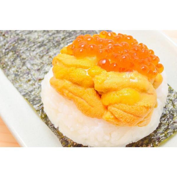 塩水うに(北海道産 生ウニ 生う に 100g/日時指定不可)(ウニ うに 雲丹)|gourmet-no-ousama|04