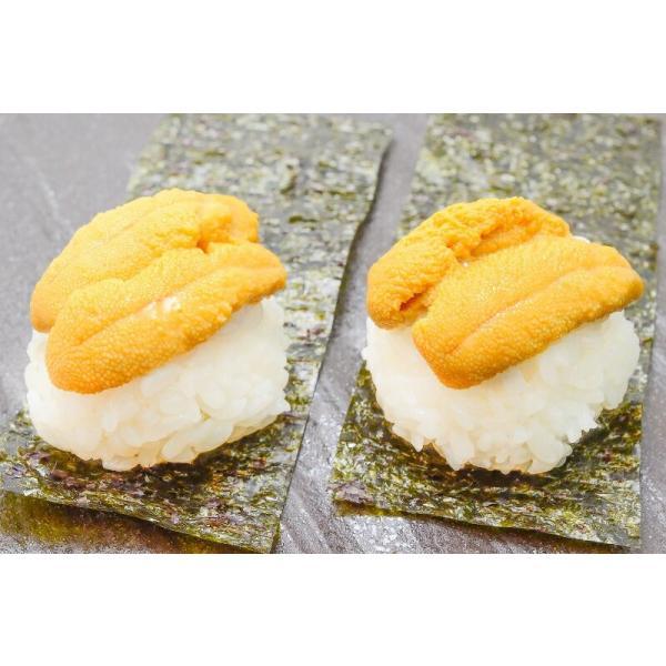 塩水うに(北海道産 生ウニ 生う に 100g/日時指定不可)(ウニ うに 雲丹)|gourmet-no-ousama|05