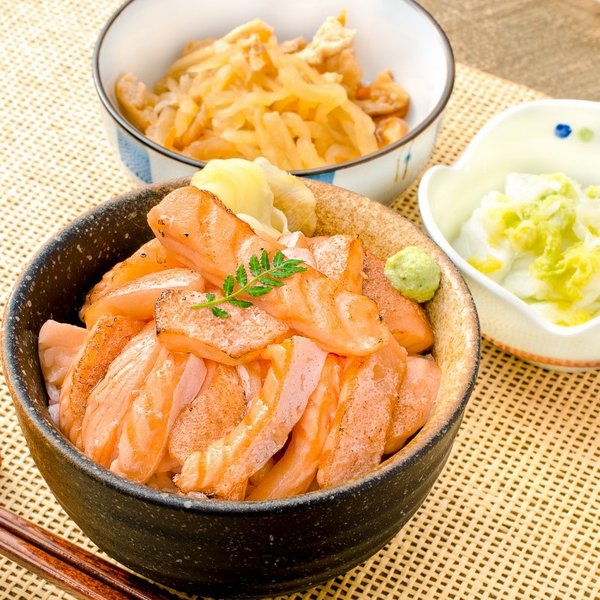 (訳あり わけあり ワケあり)サーモン 大トロ ハラス 切り落とし 500g(生食用スライス 500g アトランティックサーモン) gourmet-no-ousama 13