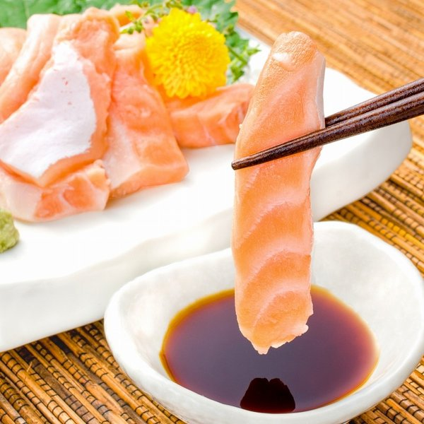 (訳あり わけあり ワケあり)サーモン 大トロ ハラス 切り落とし 500g(生食用スライス 500g アトランティックサーモン) gourmet-no-ousama 04