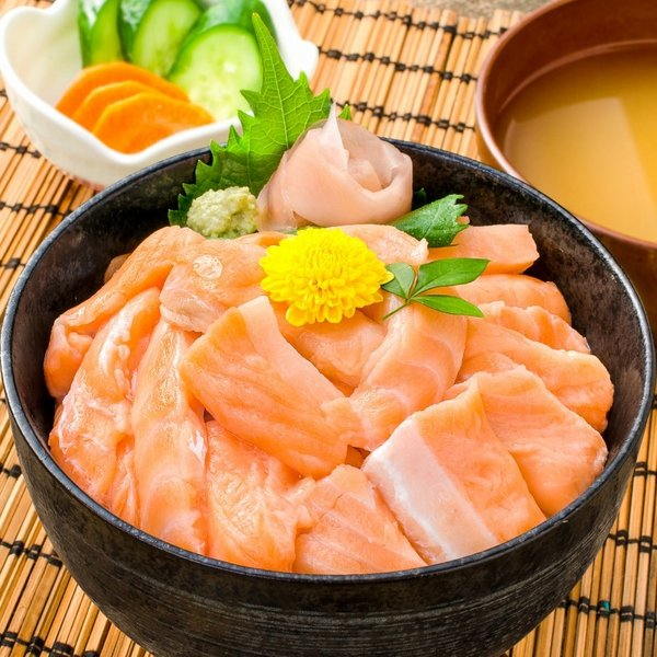(訳あり わけあり ワケあり)サーモン 大トロ ハラス 切り落とし 500g(生食用スライス 500g アトランティックサーモン) gourmet-no-ousama 05