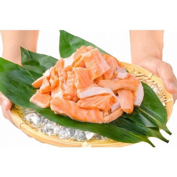 (訳あり わけあり ワケあり)サーモン 大トロ ハラス 切り落とし 500g(生食用スライス 500g アトランティックサーモン) gourmet-no-ousama 07