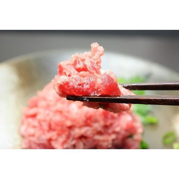 ネギトロ 本まぐろ入り たたき(ねぎとろ マグロ まぐろ 鮪 海鮮丼 刺身)|gourmet-no-ousama|04