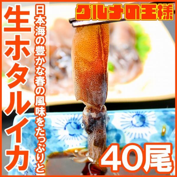ホタルイカ ほたるいか 40尾 約150g×2パック 富山産 刺身用 いか イカ 烏賊 生ホタルイカ