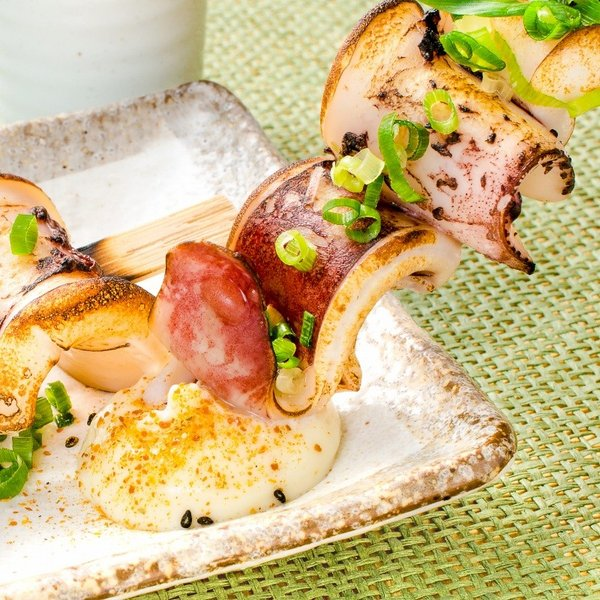 いかおやじ串 イカ串 10本 1本75〜85g前後 海鮮串(BBQ バーベキュー)(いか イカ 烏賊)|gourmet-no-ousama|11