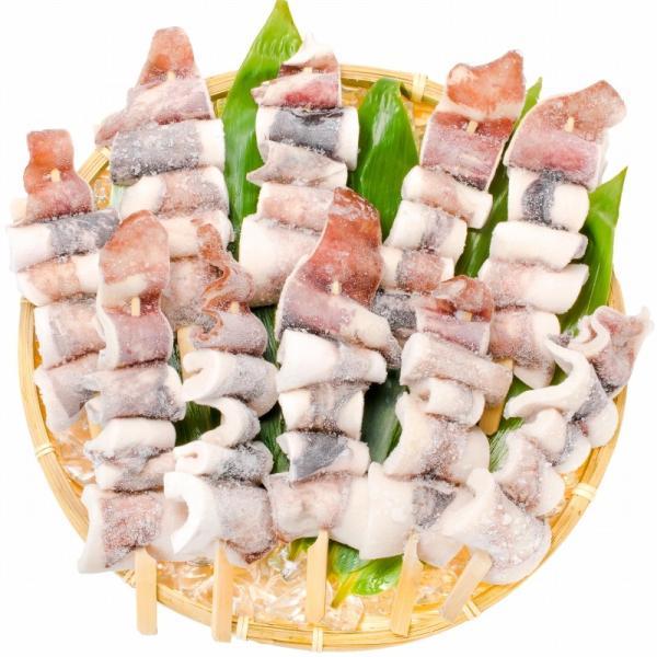 いかおやじ串 イカ串 10本 1本75〜85g前後 海鮮串(BBQ バーベキュー)(いか イカ 烏賊)|gourmet-no-ousama|04
