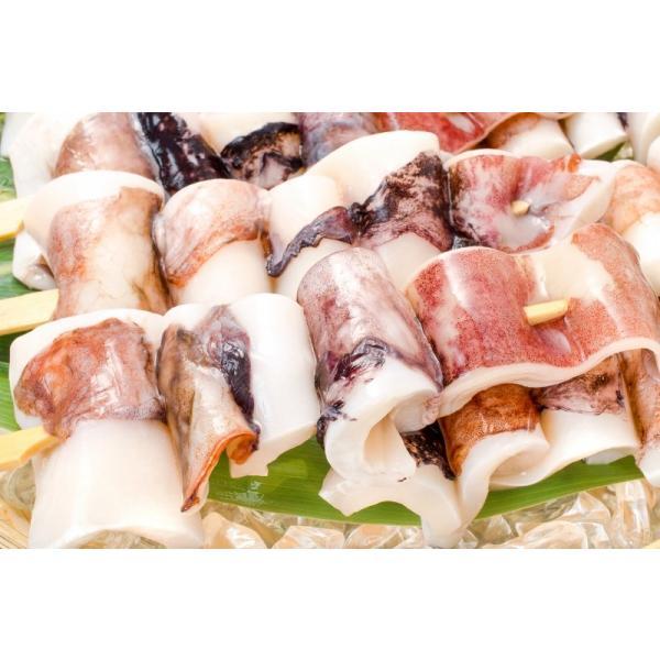 いかおやじ串 イカ串 10本 1本75〜85g前後 海鮮串(BBQ バーベキュー)(いか イカ 烏賊)|gourmet-no-ousama|06
