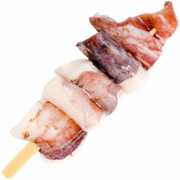いかおやじ串 イカ串 10本 1本75〜85g前後 海鮮串(BBQ バーベキュー)(いか イカ 烏賊)|gourmet-no-ousama|07