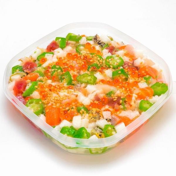 海鮮ねばねばぶっかけ爆弾(230g×1・約2人前) gourmet-no-ousama 05