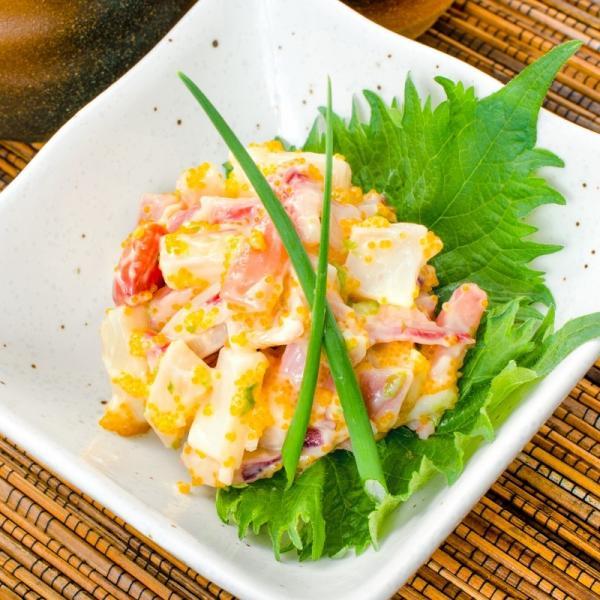 ほっき貝入り海鮮サラダ200g(ホッキ貝 北寄貝)|gourmet-no-ousama|04