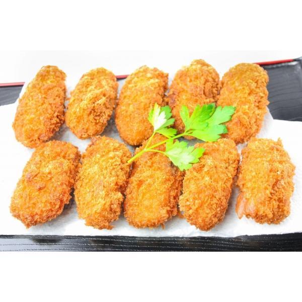 牡蠣フライ 手造りカキフライ 20個(500g)|gourmet-no-ousama|09