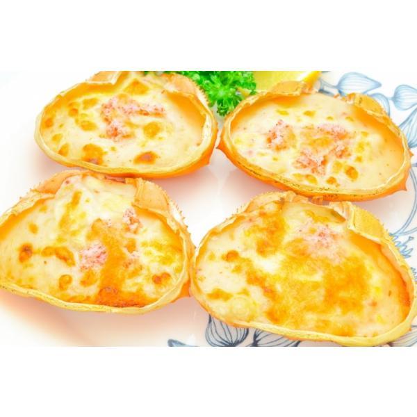 カニ甲羅グラタン 4個入り 320g(かに カニ 蟹)|gourmet-no-ousama|02