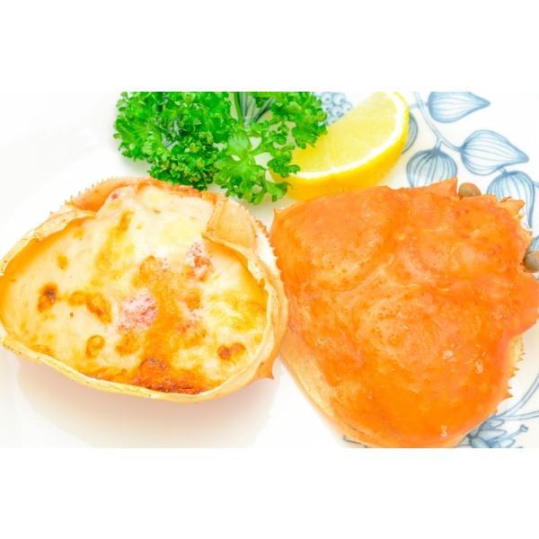 カニ甲羅グラタン 4個入り 320g(かに カニ 蟹)|gourmet-no-ousama|03