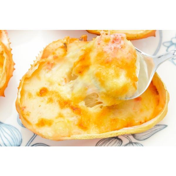 カニ甲羅グラタン 4個入り 320g(かに カニ 蟹)|gourmet-no-ousama|04